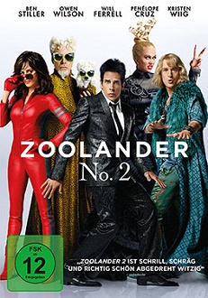 Zoolander 2 DVD-Cover - Universal Pictures Home Entertainment