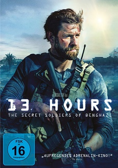 13 Hours - The Secret Soldiers of Benghazi DVD-Cover - Paramount Pictures