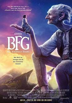 BFG - Big Friendly Giant Plakat - Constantin Film