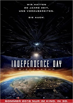 Independence Day - Wiederkehr Plakat - Twentieth Century Fox