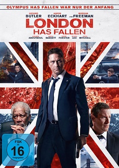 London has fallen DVD-Cover - Universum Film