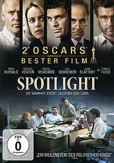 Spotlight DVD-Cover - Universal Pictures Home Entertainment
