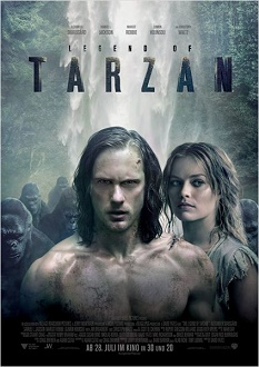 The Legend of Tarzan Plakat - Warner Bros.