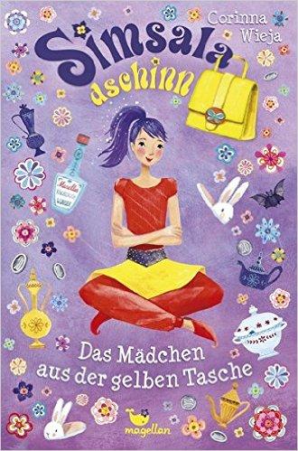 Cover - Wieja, Corinna - Simsaladschinn - Das Mädchen aus der gelben Tasche