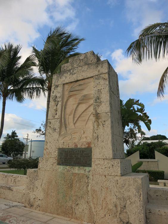 Denkmal für die Hurrikan-Opfer - weitere Fotos auf dem Pinterest-Board der Autorin