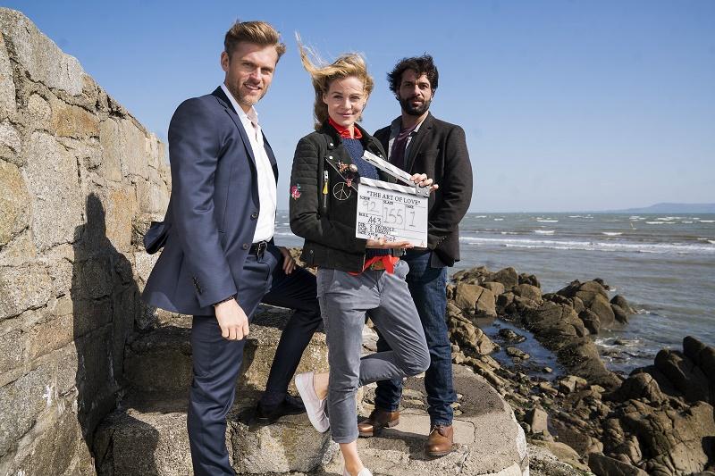 Mark (Jens Atzorn), Claire (Jessica Ginkel) und Sean (Kai Schumann) - © ZDF/ Patrick Redmond