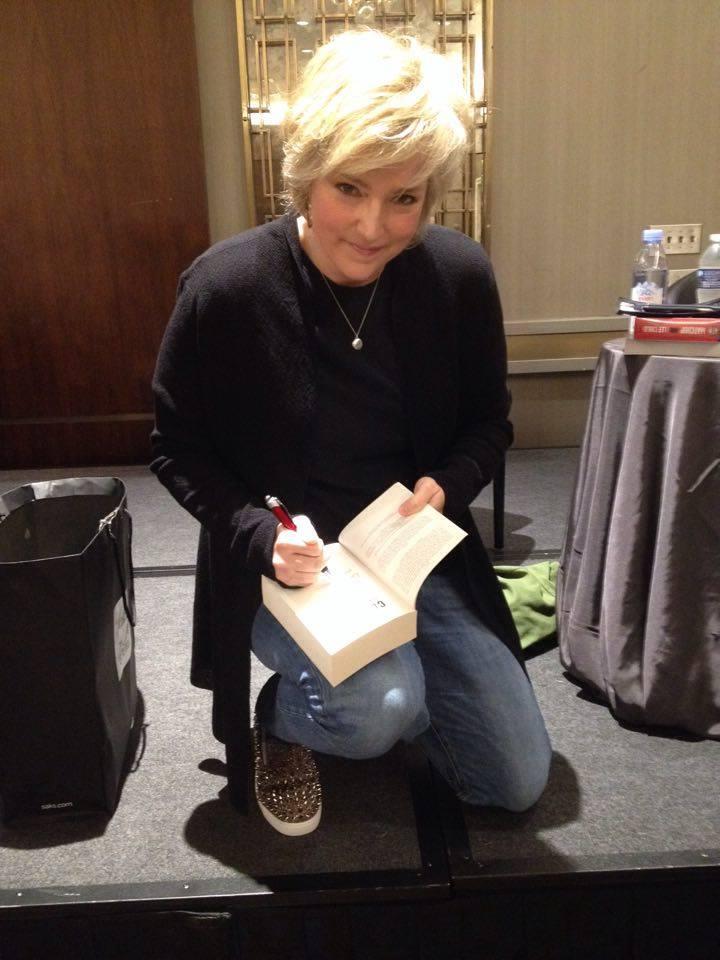 Thrill-Queen Karin Slaughter, deren Bücher inzwischen von HarperCollins Germany veröffentlicht werden
