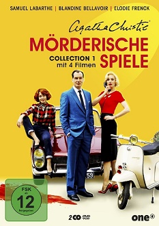 Agatha Christie - Mörderische Spiele - Collection 1 DVD-Cover - polyband