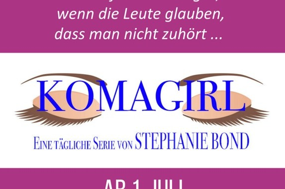 Bond, Stephanie - Komagirl Teaser-Banner