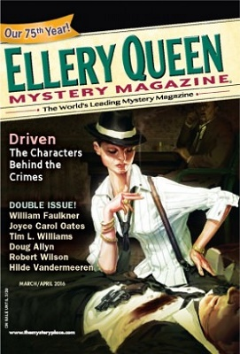 Cover - Ellery Queen Mystery Magazine March April 2016