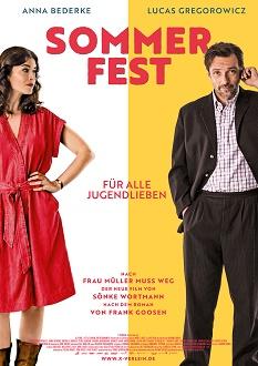 Sommerfest Plakat - X-Verleih