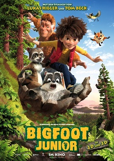 Bigfoot Junior - Kinoplakat - Studiocanal