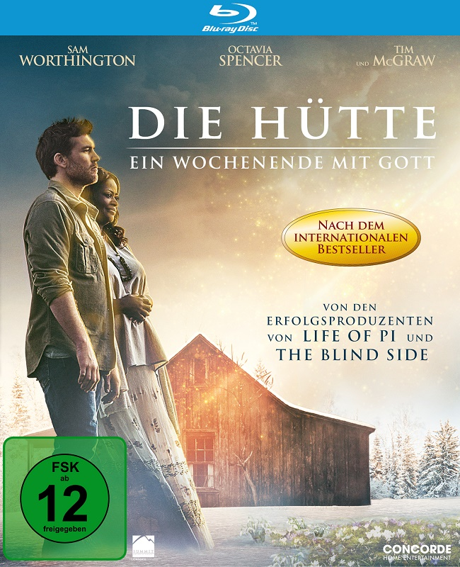 Die Hütte - Blu-ray-Cover - Concorde Home Entertainment