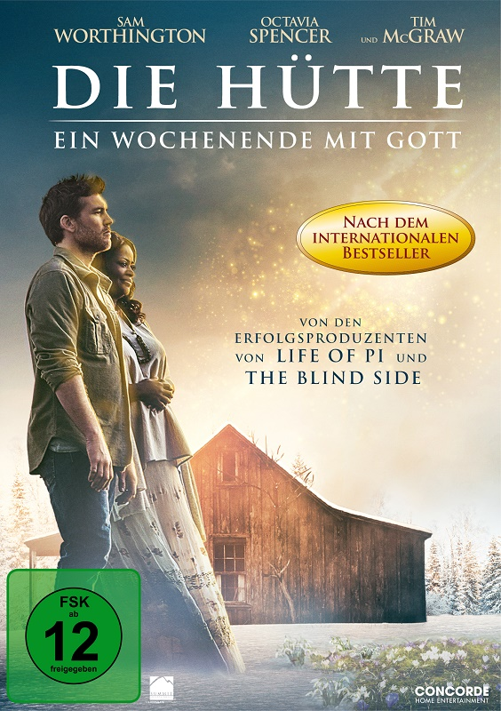Die Hütte - DVD-Cover - Concorde Home Entertainment