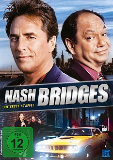 Nash Bridges - Staffel 1 - DVD-Cover - KSM