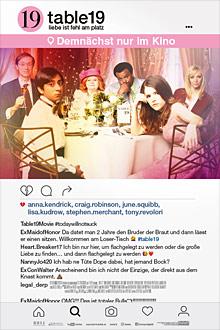 Table 19 - Liebe ist fehl am Platz - Kinoplakat - Twentieth Century Fox