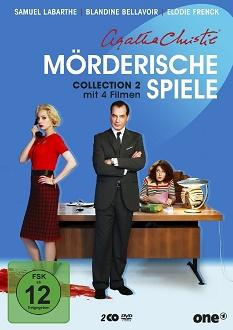 Agatha Christie - Mörderische Spiele - Collection 2 - DVD-Cover - Polyband