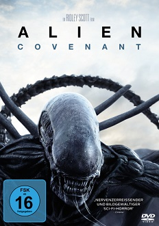 Alien Covenant - DVD-Cover - 20th Century Fox Home Entertainment