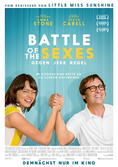 Battle of the Sexes - Gegen jede Regel - Kinoplakat - Twentieth Century Fox