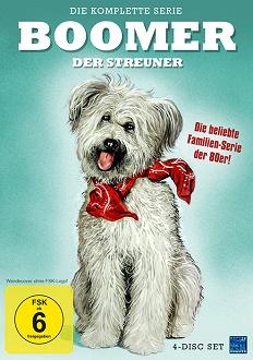Boomer, der Streuner - Die Serie - DVD-Cover - KSM