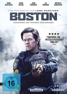 Boston - DVD-Cover - Studiocanal Home Entertainment