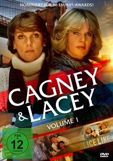 Cagney & Lacey - Volume 1 - DVD-Cover - Koch Media