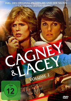 Cagney & Lacey - Volume 2 - DVD-Cover - Koch Media