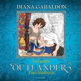 Cover - Gabaldon, Diana - Das große Outlander Fan-Malbuch - Knaur