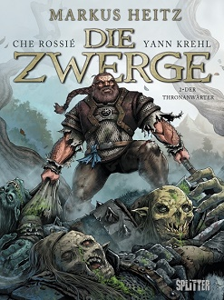 Cover - Heitz, Markus - Die Zwerge 2 - Der Thronanwärter - Comic - Splitter