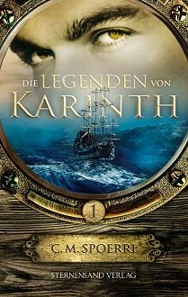 Cover - Spoerri, C.M. - Die Legenden von Karinth 1 - Sternensand
