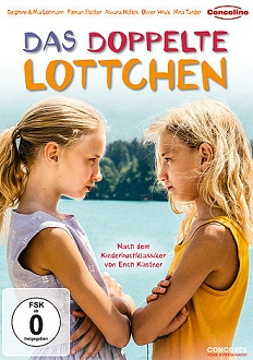 Das doppelte Lottchen - DVD-Cover - Concorde Home Entertainment