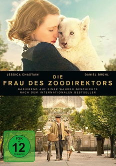 Die Frau des Zoodirektors - DVD-Cover - Universal Pictures Home Entertainment