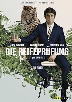 Die Reifeprüfung - 50th Anniversary Edition - DVD-Cover - Arthaus