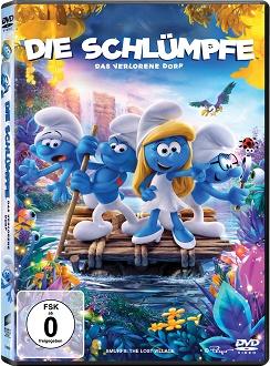 Die Schlümpfe - Das verlorene Dorf - DVD-Cover - Sony Pictures Home Entertainment