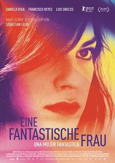 Eine fantastische Frau - Kinoplakat - Pfiffl Medien