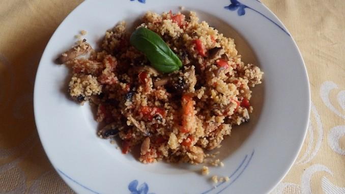 Einfach lecker - Bunter Couscous-Salat
