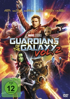 Guardians of the Galaxy Vol. 2 - DVD-Cover - Walt Disney