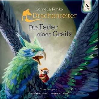 HB-Cover - Funke, Cornelia - Die Feder eines Greifs - Oetinger Audio