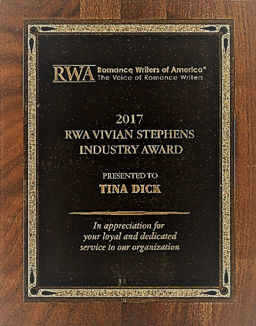 Tina Dick Vivian Stephens Industry Award 2017 der RWA