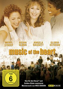 Music of the Heart - DVD-Cover - Studiocanal