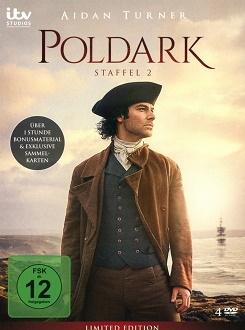 Poldark - Staffel 2 - DVD-Cover - Edel Motion