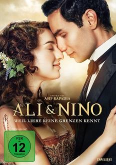 Ali & Nino - Weil Liebe keine Grenzen kennt DVD-Cover - Capelight