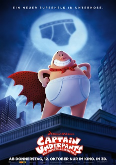 Captain Underpants Plakat klein - Fox