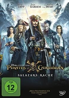 Fluch der Karibik - Salazars Rache DVD-Cover - Walt Disney