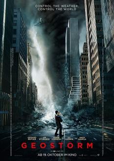 Geostorm Plakat - Warner Bros.