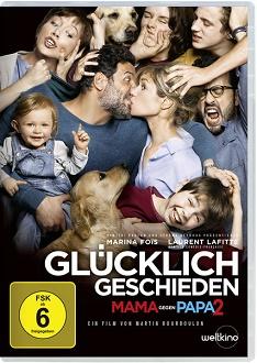 Glücklich geschieden - Mama gegen Papa 2 DVD-Cover - Universum