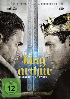 King Arthur - Legend of the Sword DVD-Cover - Warner