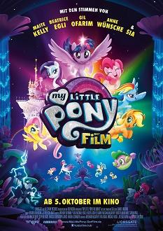 My little Pony - Der Film Plakat klein - Tobis