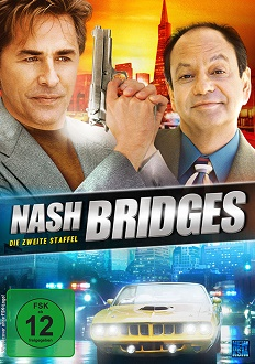 Nash Bridges - Staffel 2 DVD-Cover - KSM