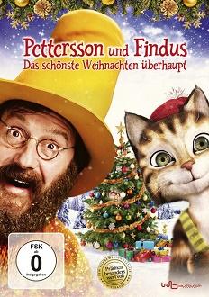 Pettersson und Findus - Das schönste Weihnachten überhaupt DVD-Cover - Universum